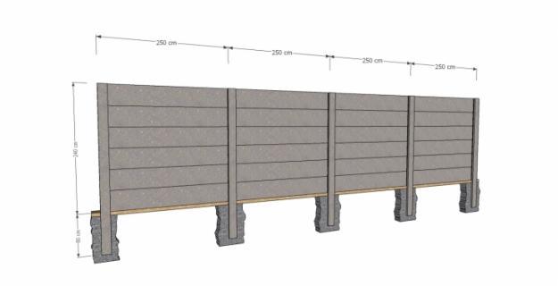 Pagar Panel Beton cianjur Bertulang