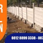 Pagar Panel Beton Tangerang, Harga Terpasang Terbaru
