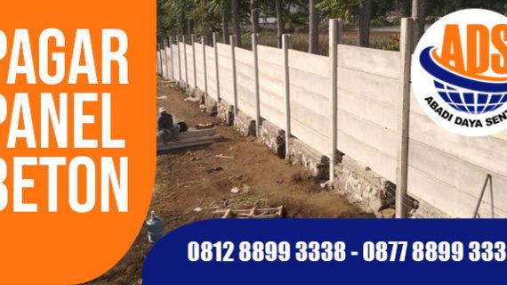 Pagar Panel Beton Sukabumi, Harga Terpasang Terbaru