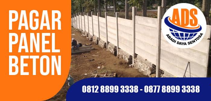 Pagar Panel Beton Karawang, Tangerang