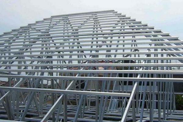 Konstruksi Atap Baja Ringan subang